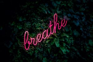 just breathe for self-care with Sarah McVanel
