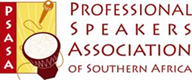Image result for Professional Speakers Association South Africa, logo