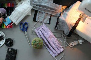 sewing masks