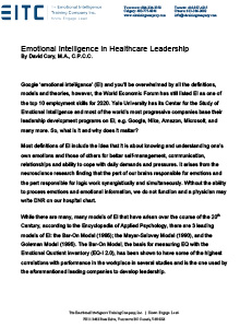 Microsoft Word - EI and Healthcare Leadership, D Cory, 2020.docx