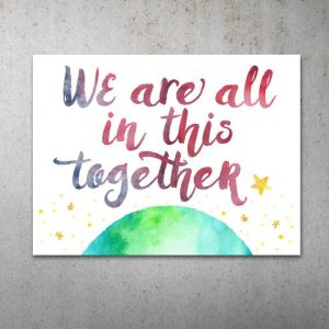 Sarah McVanel we're all in this together