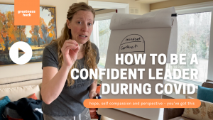 Lead with confidence through COVID with Sarah McVanel