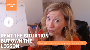 RENT the Situation but OWN the Lesson with Sarah McVanel