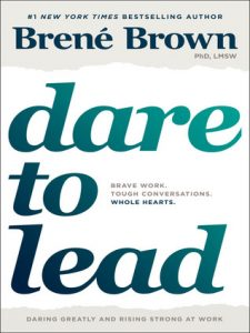 reading list Dare to Lead by Brene Brown