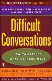 reading list Difficult Conversations