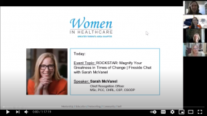 Fireside Chat with Sarah McVanel and Toronto Women in Healthcare