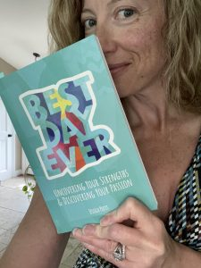 Sarah reading The Best Day Ever