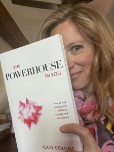 Sarah reading books The Powerhouse in You book