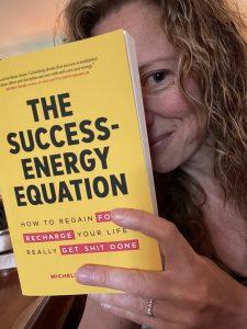 Sarah reading books The Success-Energy Equation