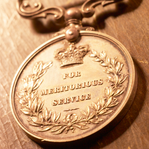 a medal for meritorious service