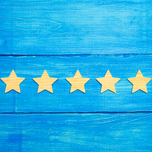 5 stars of recognition