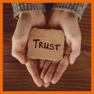 building trust with Sarah McVanel